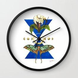 Rhythm of Time Wall Clock