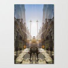 sunrise spot collector Canvas Print