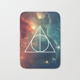 Deathly Hallows Nebula HP Bath Mat