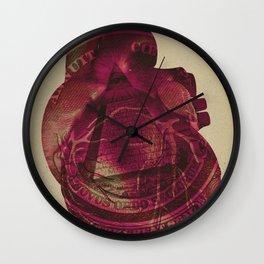 I need money to be honey Wall Clock