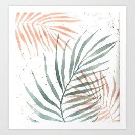 Palm Party I Art Print