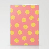 shingeki no kyojin Stationery Cards featuring Armin Blanket (Shingeki! Kyojin Chuugakkou) by kaposiopesis