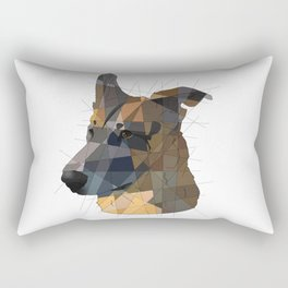 German Shepherd Rectangular Pillow