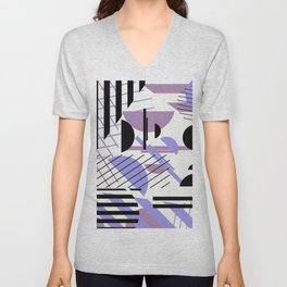 Shape Central - Geometric Abstract Pattern Unisex V-Neck
