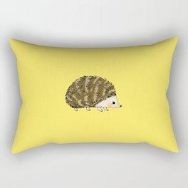 Adorable wild animal hedgehog Rectangular Pillow