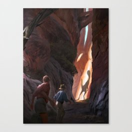 Exploring Utah Canvas Print