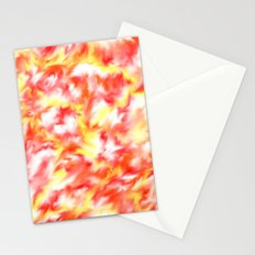 Smokey Flowers Stationery Cards