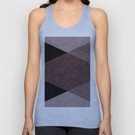 Black and brown marble Unisex Tank Top