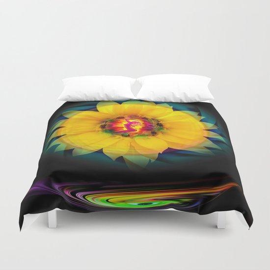 Sunflower Love Duvet Cover