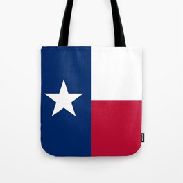 Texas state flag, High Quality Authentic Version Tote Bag