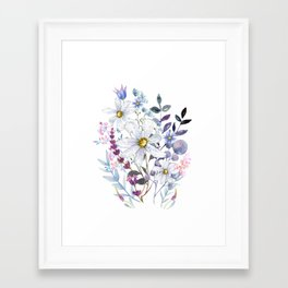 Wildflowers V Framed Art Print