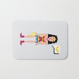 Pixel Wonder Wo man Bath Mat