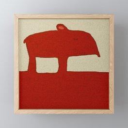 Tapir Framed Mini Art Print