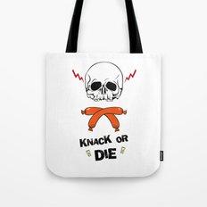 Knack Or Die Tote Bag