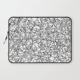 65 Cows Tiled Laptop Sleeve