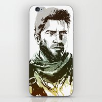 uncharted iPhone & iPod Skins featuring NEW Uncharted 3 by James Brunner