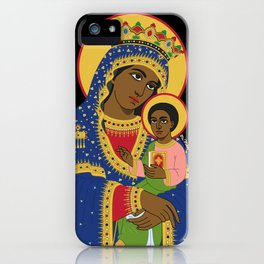 MARY AND CHRIST iPhone Case