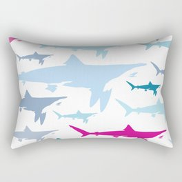 Shark Tank Rectangular Pillow