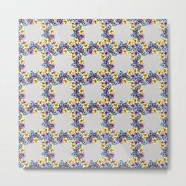 BALI0 BLUE pat.0 sm Metal Print