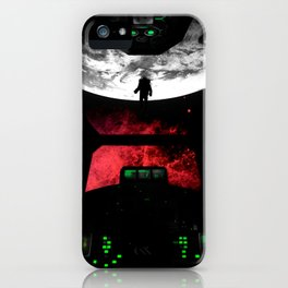 COVER - Heavy Metal Thunder Artwork iPhone Case