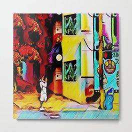 Gentrifying Candyland Metal Print