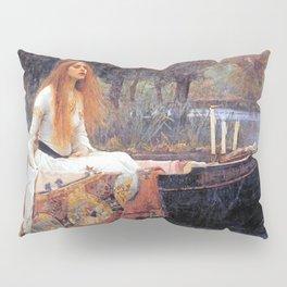 THE LADY OF SHALLOT - WATERHOUSE Pillow Sham