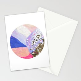 Abstraction World #1. Round version 2 Stationery Cards