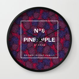 Pineapple N8 Wall Clock