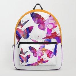 Pink Butterflies Backpack