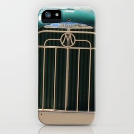 Mack Truck Grill, Mack Truck, Old Truck, Green iPhone Case