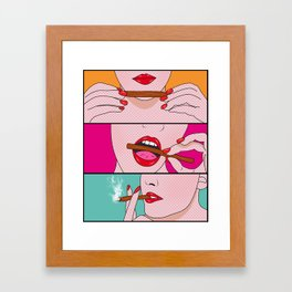 comics Framed Art Print