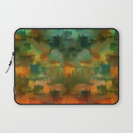 """""""Abstract forest in Autumn"""" Laptop Sleeve"""