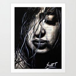 The dark Art Print