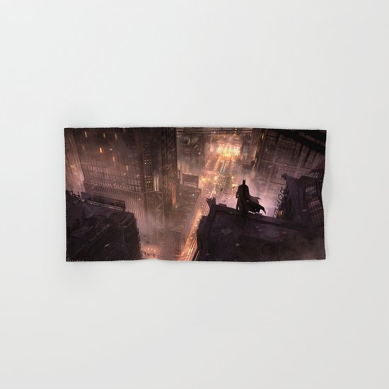 The Dark Knight Hand & Bath Towel