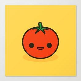 Cute tomato Canvas Print