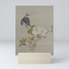 Birdie & Sakura Mini Art Print
