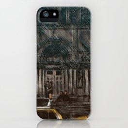 New York in the Rain iPhone Case