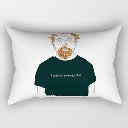 Louis CK… I was an awkard kid… quote Rectangular Pillow