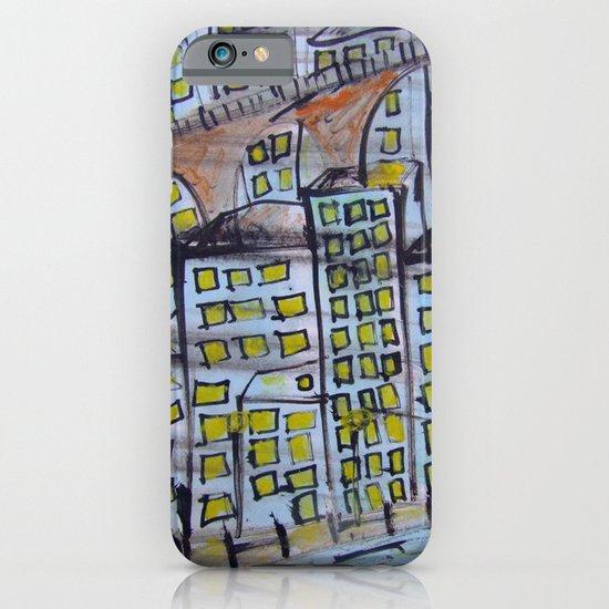 City scape. iPhone & iPod Case