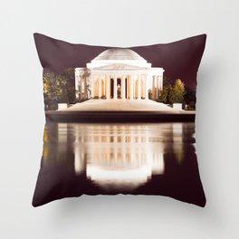 Jefferson Love Memorial Throw Pillow