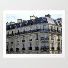 Parisian Apartment Art Print