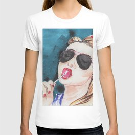 Girl With a Candy T-shirt