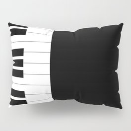 Piano Keys Pillow Sham