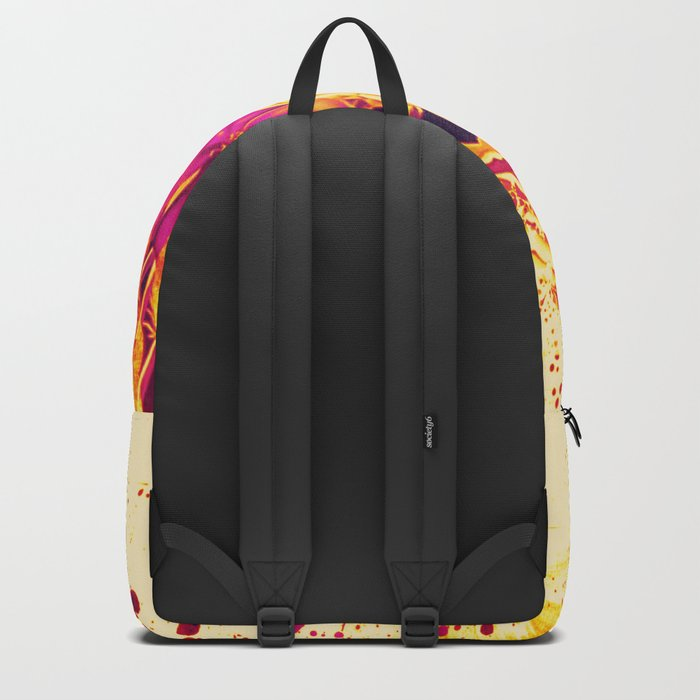 splash flowers Backpack