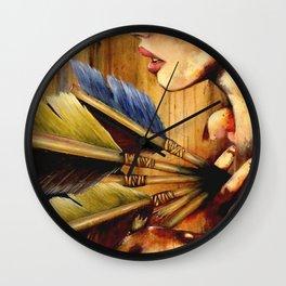 Struck Wall Clock