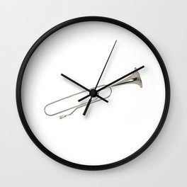 Clip or trumpet? Wall Clock