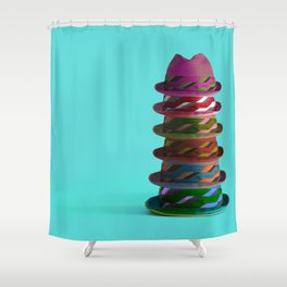 Hat Mountain Shower Curtain