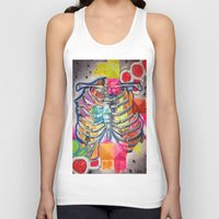 health Tank Tops featuring Hustle for Health by Lilia