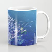 dreamcatcher Mugs featuring dreamcatcher by Luiza Lazar