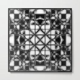 lattice Metal Print